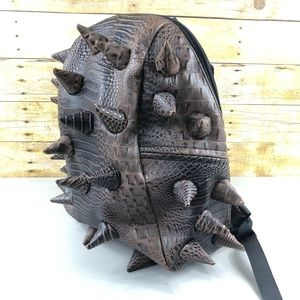 Mad Pax Brown Reptile Dinosaur Backpack
